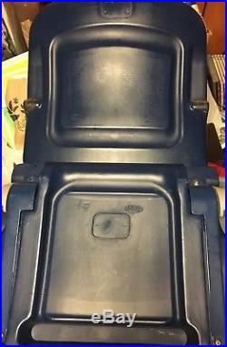 Original Gillette Stadium Seat Seat Bottom & Back New England Patriots Brady