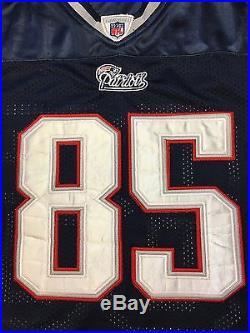 RARE Mens New England Patriots Chad Ochocinco Reebok STITCHED Jersey Size 50