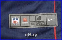Rare NIKE Aaron Hernandez New England Patriots On Field NFL Jersey SZ M