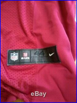Rare Red Nike Aaron Hernandez New England Patriots NFL Jersey Mens Large (44)