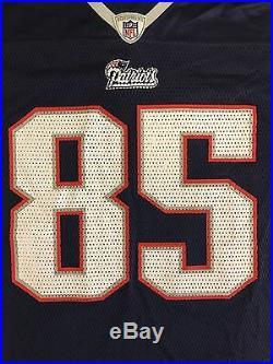 Rare Reebok NFL New England Patriots Aaron Hernandez Rookie Year #85 Jersey