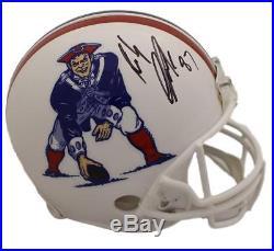 Rob Gronkowski Autographed New England Patriots T/B Proline Helmet BAS 22801