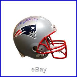 Rob Gronkowski New England Patriots Signed Autographed Full Size Replica Helmet