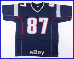 Rob Gronkowski Signed Patriots Jersey PSA COA
