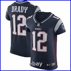 Sale! Tom Brady Unsigned Patriots Blue Nike Vapor Elite Jersey Size 48