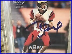 TERRIFIC 2000 Pacific Tom Brady GOAT ROOKIE PSA 10 Auto #403 Signed Autograph