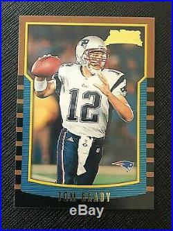 TOM BRADY 2000 Bowman Football ROOKIE Card #236 RC New England Patriots GOAT