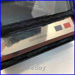 TOM BRADY 2003 Playoff Absolute Memorabilia GU Jersey Glass Plaque #13/75
