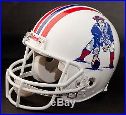 TOM BRADY Edition NEW ENGLAND PATRIOTS Riddell REPLICA THROWBACK Football Helmet