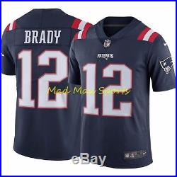 TOM BRADY New England PATRIOTS Nike COLOR RUSH Limited THROWBACK Jersey S-2XL