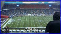 Three (3) New England Patriots vs Green Bay Packers tickets tix 30 Yard Line