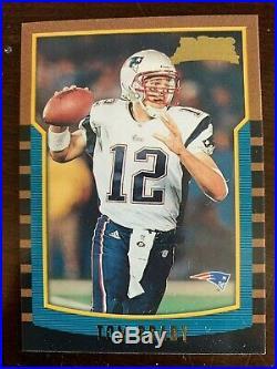 Tom Brady 2000 Bowman Rc Rookie Card Mint High Grade Sharp Corners Centered