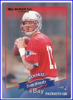 Tom Brady 2000 Donruss #230 Rc Rookie Card New England Patriots Sp #0696/1325