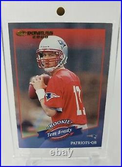 Tom Brady 2000 Donruss #230 Rookie RC #1140/1325 Patriots Bucs RARE LOOK