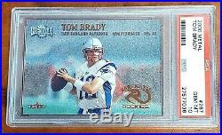 Tom Brady 2000 Metal PSA 10 GEM Mint New England Patriots Rookie RC Rare Metals