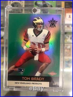 Tom Brady 2000 Pacific Vanguard /762 Rookie Card #139 New England Patriots