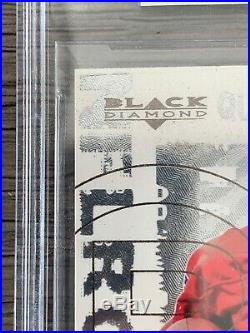 Tom Brady 2000 Ud Black Diamond Bgs 9 Mint Rookie Card #126