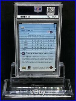Tom Brady 2000 Upper Deck Star Rookie Card #254 Sp Psa 8 Tough Grade Low Pop
