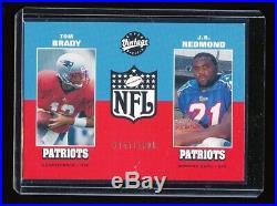 Tom Brady 2000 Upper Deck Vintage Rc Rookie Card #/1000 New England Patriots