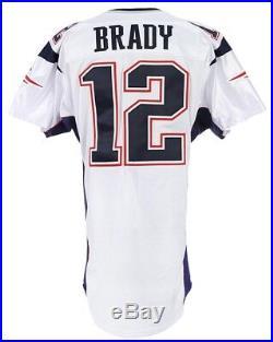 Tom Brady 2001 Game Worn New England Patriots Jersey Mears A5 COA 1ST STARTS