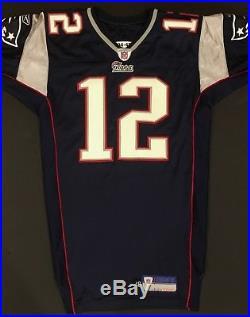 Tom Brady 2004 New England PATRIOTS GAME WORN/ISSUED Jersey