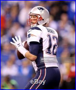 Tom Brady 2015 New England PATRIOTS Away GAME ISSUED Jersey