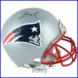 Tom Brady AUTOGRAPHED FULL SIZE helmet NEW ENGLAND PATRIOTS facsimile auto NFL