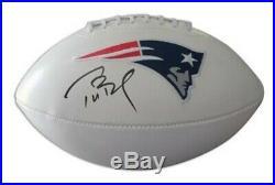 Tom Brady Autographed Football