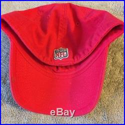 Tom Brady Autographed New England Patriots Cap Red Reebok Signed In Person