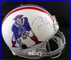 Tom Brady Autographed New England Patriots TB Proline Helmet Tristar 21294