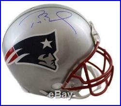 Tom Brady Autographed/Signed New England Patriots Proline Helmet Tristar 21293
