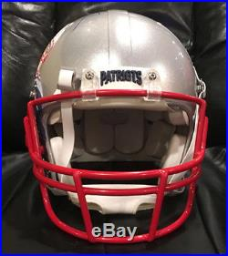 Tom Brady New England PATRIOTS Hand Painted Autographed SB 51 Helmet 1/1