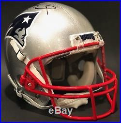 Tom Brady New England Patriots Auto SB 51 LI Riddell Game Issued Style Helmet