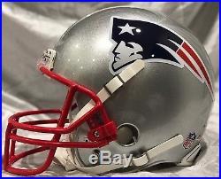 Tom Brady New England Patriots MVP SB 51 LI Riddell Game Style Authentic Helmet