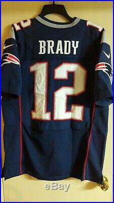 Tom Brady New England Patriots Nike Elite NFL jersey Size 44 large