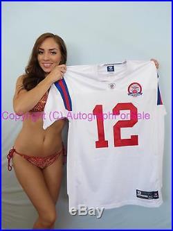 Tom Brady New England Patriots Reebok game model jersey authentic 2009 throwback