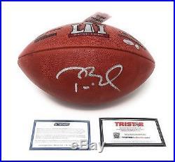 Tom Brady New England Patriots Signed Autograph NFL Authentic Super Bowl LI Duke