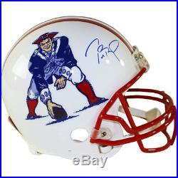 Tom Brady New England Patriots Signed Autographed Full Throwback Helmet TRISTAR