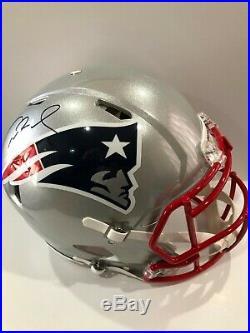 Tom Brady New England Patriots TRISTAR Autographed Pro-Line Speed Helmet
