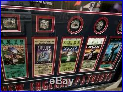 Tom Brady New England Patriots Wall Display Framed Photo-tickets-exclusive