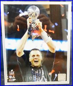 Tom Brady Patriots Super Bowl MVP Framed Autographed Jersey TrisStar COA J1