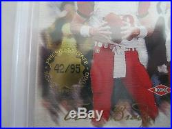 Tom Brady RC 2000 Pacific Private Stock #42/95 Rookie GEM MINT Beckett BGS 9.5