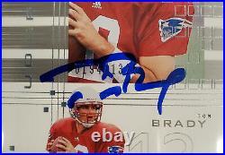 Tom Brady Signed 2000 UD Graded Rookie Card BGS 9.5 Gem 10 Auto /1325 13060278