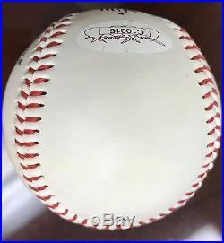 Tom Brady Signed Autograph Baseball PSA/DNA JSA New England Football Patriots