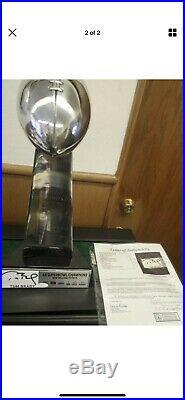 Tom Brady Signed JSA Super Bowl LIII Trophy (LOA)