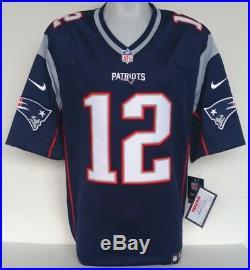 1d01d5637 Tom Brady Signed New England Patriots Blue Nike Limited Jersey Tristar