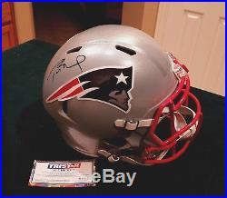 Tom Brady Tristar Autograph Full Size Helmet Signed New England Patriots Signed
