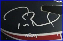 Tom Brady signed Chrome Patriots helmet ins SB 51 MVP autograph Steiner COA RARE
