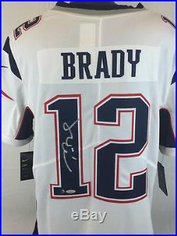 Tom Brady signed Nike Limited Onfield jersey Tristar & Steiner Patriots football