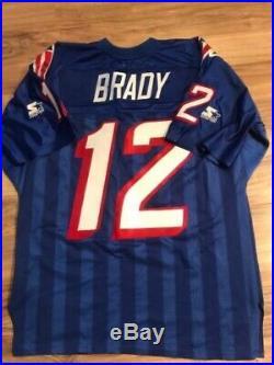 Tom brady Authentic Starter Vintage Jersey Large New England Patriots